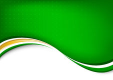 Green abstract clean background Royalty Free Stock Photo
