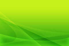 Green abstract composition. From lines Royalty Free Stock Photos