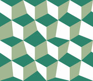 Green abstract cubes Royalty Free Stock Image