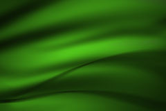 Green abstract curve background Stock Photography