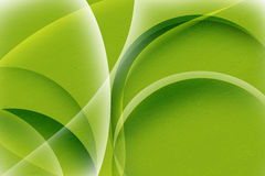 Green abstract curve background Royalty Free Stock Photos