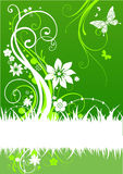 Green abstract design Stock Photo