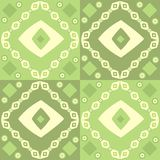 Green abstract design. Abstract design in shades of green, patterns Stock Illustration