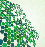 Green abstract digital background royalty free illustration