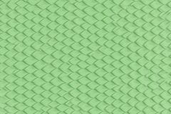Green abstract dragon or snake scales on the skin royalty free illustration