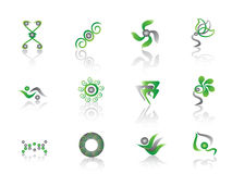 Green Abstract Element Stock Photography