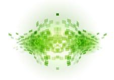 Green abstract fish Stock Image