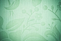 Green abstract flower background Stock Photography
