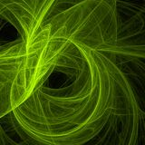 Green abstract fractal background royalty free stock photo