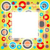 Green abstract frame Royalty Free Stock Images