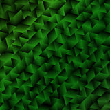 Green Abstract Geometric Background Royalty Free Stock Photography