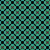 Green abstract geometric seamless pattern Stock Photos