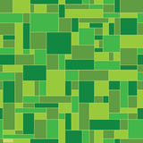 Green abstract geometric vector pattern Royalty Free Stock Images