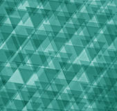 Green abstract geometrical background Royalty Free Stock Photos