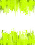Green abstract grunge background. Vector template Stock Photography