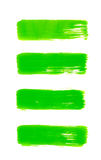 Green abstract hand painted watercolor background Stock Image