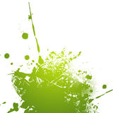 Green abstract illustration. Stock Images