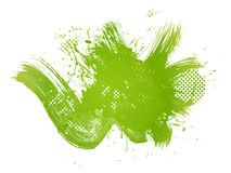 Green abstract illustration Stock Images