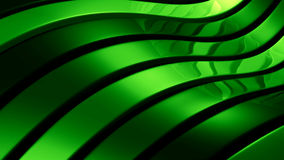 Green abstract illustration. Green abstract 3d illustration with waves Stock Photos