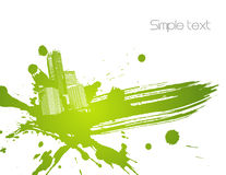 Green abstract illustration. Vector Stock Photography