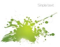 Green abstract illustration. Vector Royalty Free Stock Photos