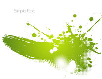 Green abstract illustration. Vector Stock Images