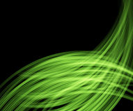 Green abstract layout Royalty Free Stock Photography
