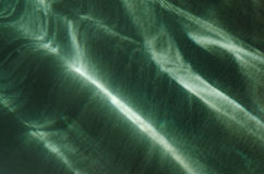 Green abstract light reflection background Stock Images
