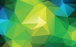 Green Abstract Low Poly Vector Background Royalty Free Stock Image