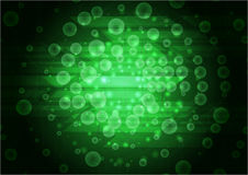Green abstract modern background. Vector design Royalty Free Stock Photography