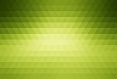 Green abstract mosaic background Stock Photos