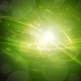 Green Abstract Motion Stock Photography