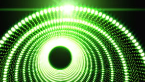Green Abstract object Particle seamless background stock video footage