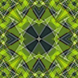 Green abstract objects beautiful geometric background vector illustration Stock Photos