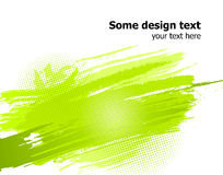 Green abstract paint splashes background. Vector royalty free illustration