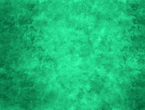Green Abstract Painted Background Stock Photo