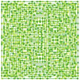 Green abstract pattern Royalty Free Stock Photo