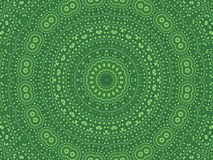 Green abstract pattern Stock Photography