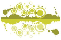 Green abstract pattern Royalty Free Stock Images