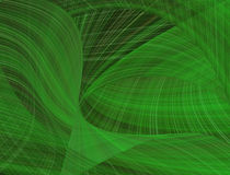 Green abstract pattern. Green lines abstract pattern background stock illustration