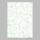 Abstract dot pattern poster design - vector page background graphic with dots. Green abstract pattern poster design - vector page background graphic with dots stock illustration