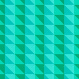 Green abstract pattern with triangles Stock Image