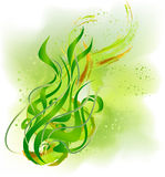 Green abstract plant background Royalty Free Stock Images