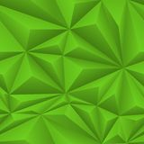 Green Abstract Polygon Background Tile Royalty Free Stock Photos