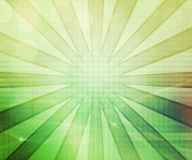 Green Abstract Rays Background Royalty Free Stock Photography