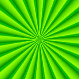 Green abstract rays circle vector background Stock Images