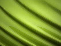 Green abstract satin Royalty Free Stock Photos