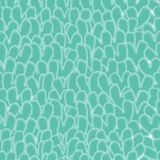 Green abstract seamless pattern Royalty Free Stock Photos