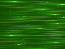 Abstraction.Green shiny background. stock images