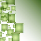 Green Abstract Square Background Stock Photos